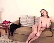 Mature Milf Woman Salinas With Huge, Tits Part V
