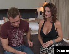 Ultimate Busty MILF Deauxma Loves Stroking Young Cock!