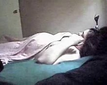 Hidden cam. My mum solo
