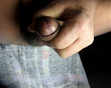 68 yrold Grandpa #160 mature cum close closeup wank uncut
