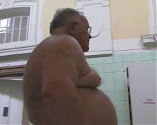 Gorgeous Grandpa enjoys wellness