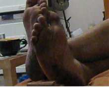 my granpa feet (hidden camera)