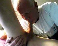 Grandpa love sucking cock