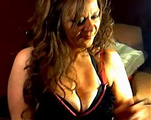 Hot Sexy Mature Cougar Smoking Solo II