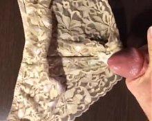 Wifes Panty Cum