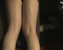 Feet sweaty off my wife