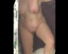 MILF Exiting Shower