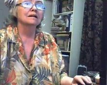 Huge Gran in a Webcam R20