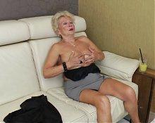 Granny's self pleasure