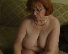 Granny showing some fun