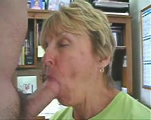 Granny Head #45 Side Angle View (Short Clip)