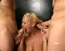 Hairy Granny Anastasia Gets Cock Up Her Ass