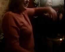 Milf and Gild Dancing
