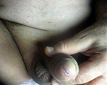 68 yrold Grandpa #145 mature cum close closeup wank uncut