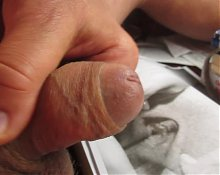 68yrold Grandpa &22 mature penis close closeup wank uncut