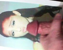 Ariana Grande cumtribute 2