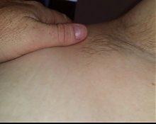 wifes sexy hairy pitt & ripe nipple