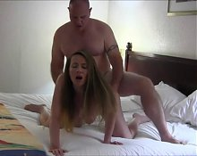 Amazing Chubby Wife Creampied
