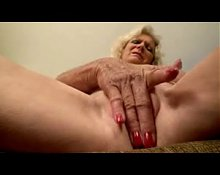 Hot Granny Masturbating by TROC