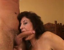 Granny Fucks With Young Man