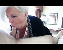 Crazy granny love to suck