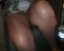 upskirt in bar