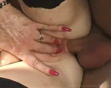 Diana Richards. Blonde granny outdoor banging