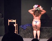 Grandma Fun - Burning Desire (Burlesque in Slow Motion)