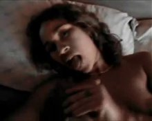 Amateur curly wife interracial creampie