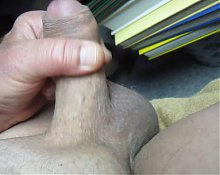 67 yr old Grandpa close cum #95 cumshot upclose closeup jerk