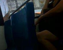 madurita en bus 3