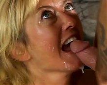 Big Tittied Blonde MILF Rheina Shine Loves Young Cock
