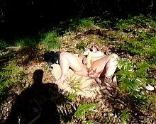Forest Masturbation