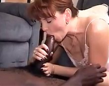 Sexy MILF having some fun with a BBC